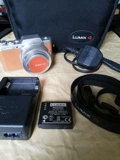 Panasonic Lumix GF7 with 12 - 32 mm
