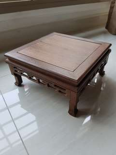 Wooden display stand