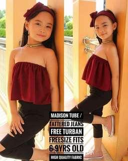 MADISON TUBE TERNO FOR KIDS