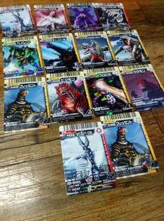 Ultraman Kaiju Cards Set 2