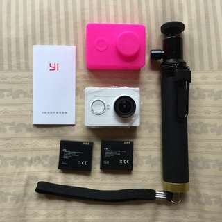 Xiaomi Yi Action Camera - White