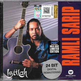 RAMLI SARIP Istilah 24 Bit Digital Mastering Gold Disc CD