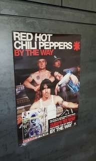 Red Hot Chili Oeppers By the way poster