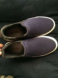 authentic zara trafaluc slip on