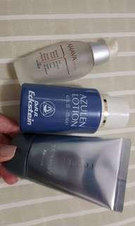 Imported serum toner and whitening UV