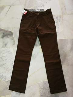 Half Price Kiko Long Pants (Brown)