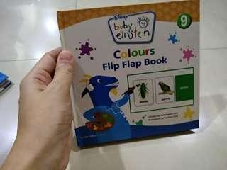 Baby Einstein Colours Flip Flap Book