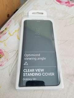 真貨 Samsung Galaxy S8+ 透視感應皮套