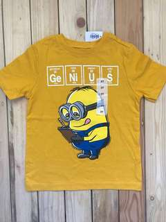 Brand New Old Navy Minions top