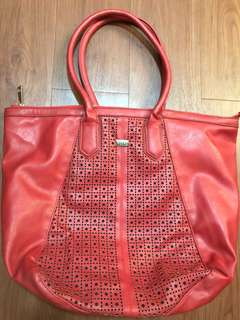 XOXO Red Tote Bag