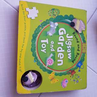 Jigsaw puzzle book & toy