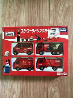 Takara Tomy Coca Cola Happiness Factory