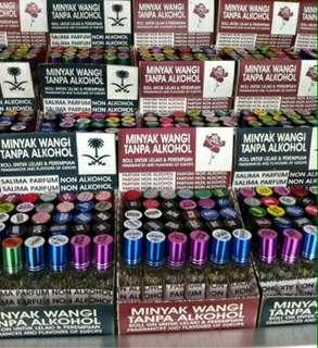 Minyak Wangi Parfum Roll Non Alkohol Wangi Tahan Lama