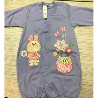 Baby Rompers Blue And Pink For 4-12 Months