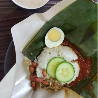 Nasi Lemak Bungkus (10 customer 8 puji, 2 no feedback)