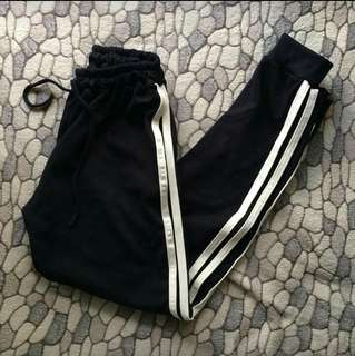 TWO LINED TRACK PANTS