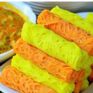Roti Jala Orange or Yellow ?