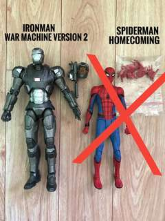 Marvel Select Ironman War Machine V2