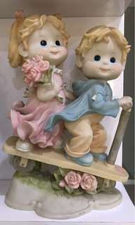 boneka keramik cowo cewe