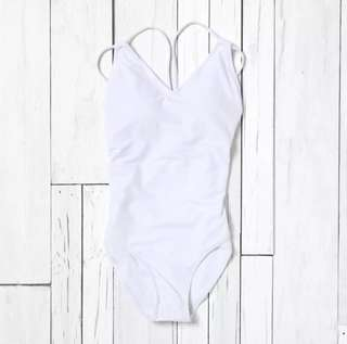 Coco Cabaña White One Piece Swimsuit XL