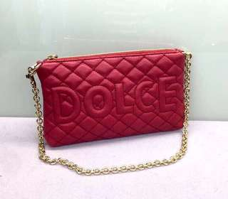 D & G Short Chain bag Size:20 x 13 cm Real and New