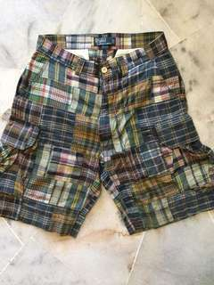 Polo Ralph Lauren Madras Patchwork Short Pants