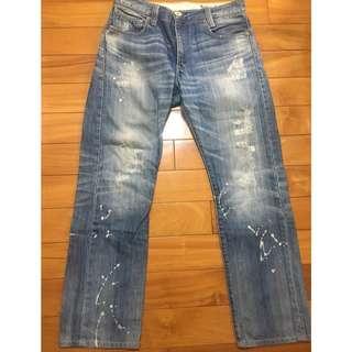 男版 LEVIS 505 slim straight 經典牛仔褲