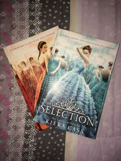 Selection Series by Kiera Cass (first 2 books) BUNDLE BOOKS