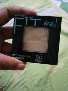 Maybelline fit me matte powder