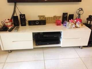Pre-loved TV console and LG Sound System
