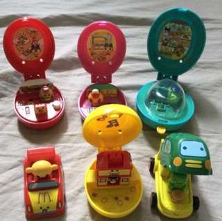 Mcdo Happy Meal Toys lot tamagotchi, olympics, puss in the boots, monsters vs aliens