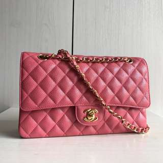 Chanel CF Handbag 25cm - Bright Pink