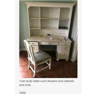 Selling Used Wood Furniture In Pasig City