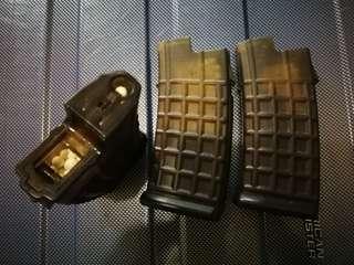 AUG 上鏈彈匣 3個, 300發, 九成新淨, 運作冇問題