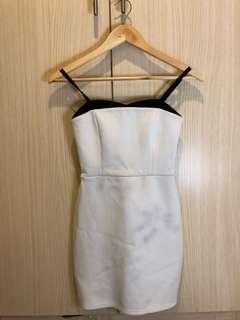 Topshop bodycon tube dress