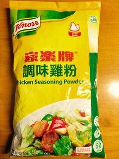 家樂牌調味雞粉-1kg補充裝