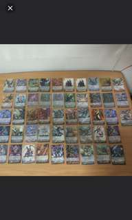 Rare Old Edition Vanguard Cards