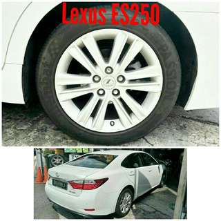 Tyre 215/55 R17 Membat on Lexus ES250 🙋♂️ Prices starts from $89
