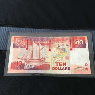 Error (909128) Ship $10 Note
