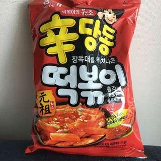 韓國辣年糕薯條