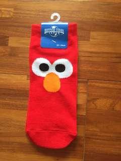 🚚 芝麻街Elmo襪子