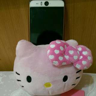 Hello Kitty 絨毛手機座