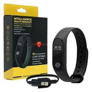Smart Bracelet M2 Heart Rate Monitor  Bluetooth Fitness Tracker