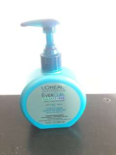 Ever curl from L'Oréal sulfate free