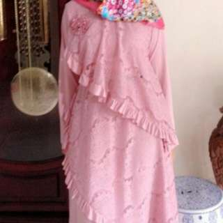 Kaftan Brukat (Baju Muslim)