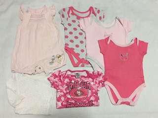 Pambahay set baby girl 0-3 months