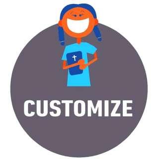 🐼 Custom Make Anything!