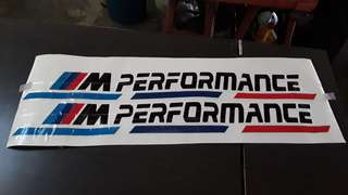 BMW PERFORMANCE STICKER STRIPE VINYL