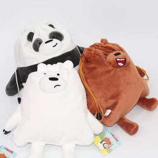 We Bare Bears Sling Pouch