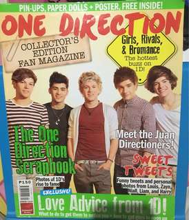 One Direction Collector's Edition Fan Magazine